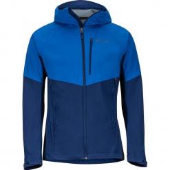"""Kurtka softshellowa """"Rom"""" w kolorze niebieskim. Niebieskie kurtki męskie Marmot, m, z materiału. W wyprzedaży za 477,95 zł."""
