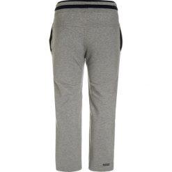 BOSS Kidswear Spodnie treningowe grau meliert. Niebieskie spodnie chłopięce marki BOSS Kidswear, z bawełny. W wyprzedaży za 186,75 zł.