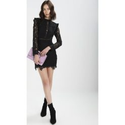 Sukienki hiszpanki: Endless Rose DRESS WITH EYELET DETAILS AND LACE INSETS Sukienka koktajlowa black