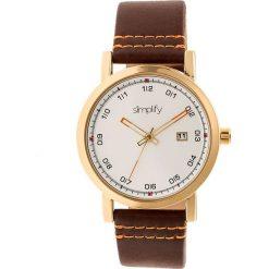 """Zegarki męskie: Zegarek kwarcowy """"the 5300"""" w kolorze brązowo-złoto-białym"""