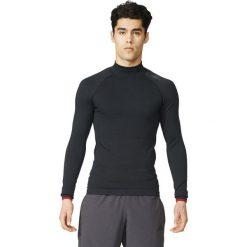 Adidas Koszulka męska Techfit Heat Long Sleeve Mock czarna r. XL (S94386). Czarne koszulki sportowe męskie marki Adidas, m. Za 269,00 zł.