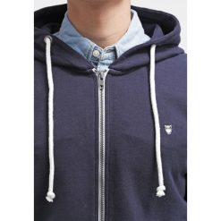 Knowledge Cotton Apparel BASIC  Bluza rozpinana dark blue. Niebieskie bluzy męskie rozpinane Knowledge Cotton Apparel, m, z bawełny. Za 399,00 zł.