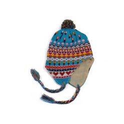 Czapka damska Peru niebieska. Niebieskie czapki zimowe damskie Art of Polo. Za 21,37 zł.