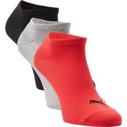Puma - Męskie skarpety do obuwia sportowego pakowane po 3 szt., czerwony. Czerwone skarpetki męskie marki Puma, z dżerseju. Za 39,95 zł.
