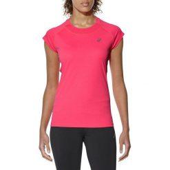 Bluzki damskie: Asics Koszulka Capsleeve Top różowa r. M (141646 6039)