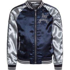 3 Pommes KID BLUE LOVE Kurtka Bomber marine. Niebieskie kurtki chłopięce marki 3 Pommes, z materiału. Za 209,00 zł.