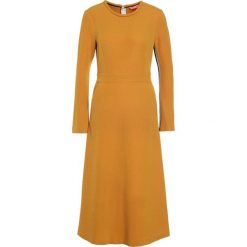 Sukienki dzianinowe: Smarteez Sukienka dzianinowa mustard