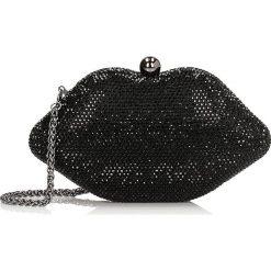 Czarna kopertówka damska. Białe torebki na łańcuszku marki Kazar, ze skóry, eleganckie, na ramię, duże. Za 399,00 zł.
