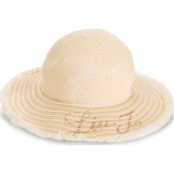 Kapelusz LIU JO - Cappello Tesa Larga N18286 T0300  Off White 01065. Brązowe kapelusze damskie Liu Jo, z materiału. W wyprzedaży za 219,00 zł.