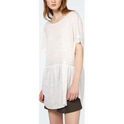 """T-shirty damskie: Koszulka """"Nilibay"""" w kolorze kremowym"""