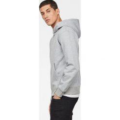 G-Star Raw - Bluza. Szare bluzy męskie rozpinane marki G-Star RAW, m, z bawełny, z kapturem. W wyprzedaży za 239,90 zł.