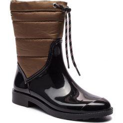 Kalosze GIOSEPPO - 46282 Black/Khaki. Brązowe buty zimowe damskie Gioseppo, z materiału. Za 219,00 zł.