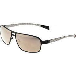 """Okulary przeciwsłoneczne męskie: Okulary męskie """"Meridian"""" w kolorze czarno-brązowym"""