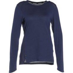 Nike Performance BREATHE ELITE Koszulka sportowa binary blue/black. Niebieskie topy sportowe damskie marki Nike Performance, s, z bawełny, z długim rękawem. W wyprzedaży za 127,20 zł.