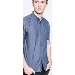 Tokyo Laundry - Koszula. Szare koszule męskie na spinki Tokyo Laundry, l, z bawełny, button down, z długim rękawem. W wyprzedaży za 39,90 zł.