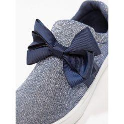Creepersy damskie: Cassis côte d'azur BRIOCHE Półbuty wsuwane glitter bleu
