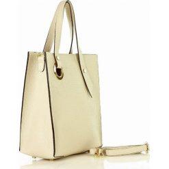 Shopper bag jasna Torby damskie na zakupy Kolekcja lato