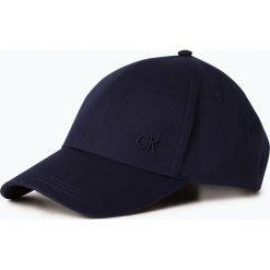 Calvin Klein - Męska czapka z daszkiem, niebieski. Niebieskie czapki z daszkiem męskie Calvin Klein. Za 149,95 zł.