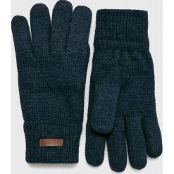 Barts - Rękawiczki. Szare rękawiczki męskie Barts, z dzianiny. W wyprzedaży za 89,90 zł.