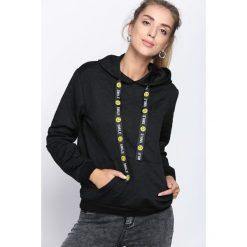 Czarna Bluza Inspire Me. Czarne bluzy z kapturem damskie Born2be, l. Za 39,99 zł.