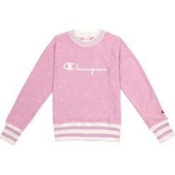 Bluzy damskie: CHAMPION Bluza damska Champion Crewneck Sweatshirt różowa r. M