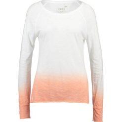 Bluzki asymetryczne: Juvia TIE DYE Bluzka z długim rękawem neon peach