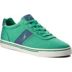 Tenisówki POLO RALPH LAUREN - Hanford 816688415001 Green. Zielone tenisówki męskie marki Polo Ralph Lauren, z gumy. W wyprzedaży za 259,00 zł.