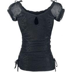 Banned Alternative Spider Koszulka damska czarny. Czarne bluzki koronkowe marki bonprix. Za 144,90 zł.
