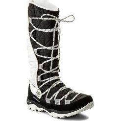 Śniegowce COLUMBIA - Loveland Omni-Heat BL1746 Black/Sea Salt 010. Szare buty zimowe damskie marki Columbia, z dzianiny. W wyprzedaży za 249,00 zł.