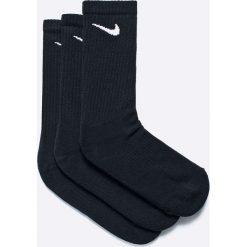 Nike - Skarpety Cushion Crew (3-pak). Czarne skarpetki męskie marki Nike. Za 49,90 zł.