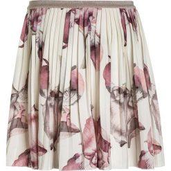 The New GISLE PLEAT SKIRT Spódnica plisowana cloud dancer. Białe spódniczki dziewczęce marki The New, z bawełny. Za 189,00 zł.