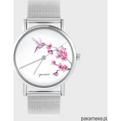 Biżuteria i zegarki: Zegarek - Koliber - metalowy