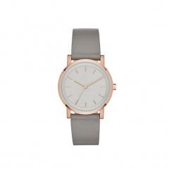 Dkny - Zegarek NY2341. Szare zegarki damskie DKNY, szklane. Za 399,90 zł.