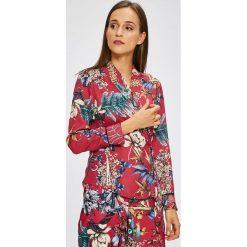 Trendyol - Bluzka. Szare bluzki z odkrytymi ramionami marki Trendyol, z elastanu, casualowe. W wyprzedaży za 79,90 zł.