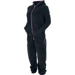 Kombinezony damskie: Urban Classics Ladies Teddy Jumpsuit Kombinezon czarny