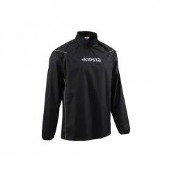 Kurtka do rugby Smocktop. Czarne kurtki męskie marki KIPSTA, m, z elastanu, z długim rękawem, na fitness i siłownię. Za 109,99 zł.