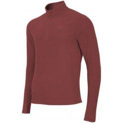 Odzież termoaktywna męska: 4F Męska Podkoszulka Z Długim Rękawem H4Z17 bimp001 Bordowa S