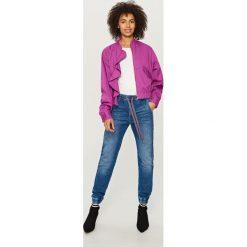 Jeansy jogger - Niebieski. Niebieskie jeansy męskie Reserved. Za 129,99 zł.