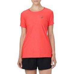 Bluzki asymetryczne: Asics Koszulka damska SS TOP czerwona r. XS (134104 0698)