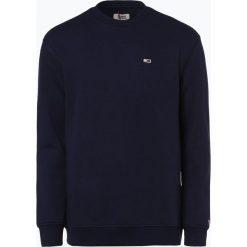 Tommy Jeans - Męska bluza nierozpinana, niebieski. Niebieskie bluzy męskie marki Tommy Jeans, m, z jeansu. Za 349,95 zł.