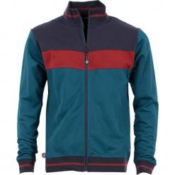 """Bluza """"Trust"""" w kolorze morskim. Niebieskie bluzy męskie rozpinane marki 4funkyflavours Women & Men, m, z bawełny. W wyprzedaży za 218,95 zł."""