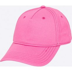 Diesel - Czapka. Fioletowe czapki z daszkiem męskie Diesel, z bawełny. Za 229,90 zł.