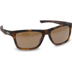 Okulary przeciwsłoneczne OAKLEY - Holston OO9334-1058 Matte Brown Tortoise/Prizm Tungsten. Brązowe okulary przeciwsłoneczne damskie aviatory Oakley. W wyprzedaży za 479,00 zł.