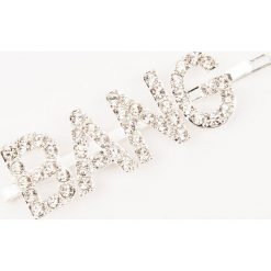 Ozdoby do włosów: NA-KD Accessories Spinka do włosów Bang – Silver