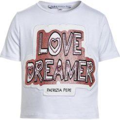 T-shirty chłopięce z nadrukiem: Patrizia Pepe Tshirt z nadrukiem white