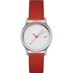 Zegarek l'orologio damski ze skórzanym paskiem. Białe zegarki damskie Alessi, ze stali. Za 500,00 zł.
