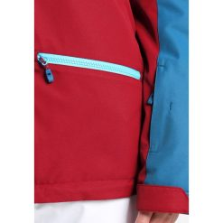 Ziener TARA Kurtka narciarska wine pigment. Czerwone kurtki damskie narciarskie Ziener, z materiału. W wyprzedaży za 674,25 zł.