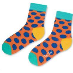 Skarpety Wysokie Unisex HAPPY SOCKS - BDO01-2003  Kolorowy. Czerwone skarpetki męskie marki Happy Socks, z bawełny. Za 34,90 zł.