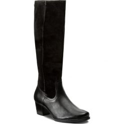 Kozaki CAPRICE - 9-25529-29 Black Comb 019. Czarne kowbojki damskie Caprice, ze skóry, na obcasie. W wyprzedaży za 339,00 zł.