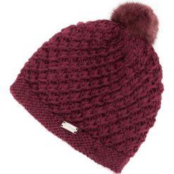 83-HF-005-2 Czapka damska. Różowe czapki zimowe damskie Wittchen, z materiału. Za 49,00 zł.